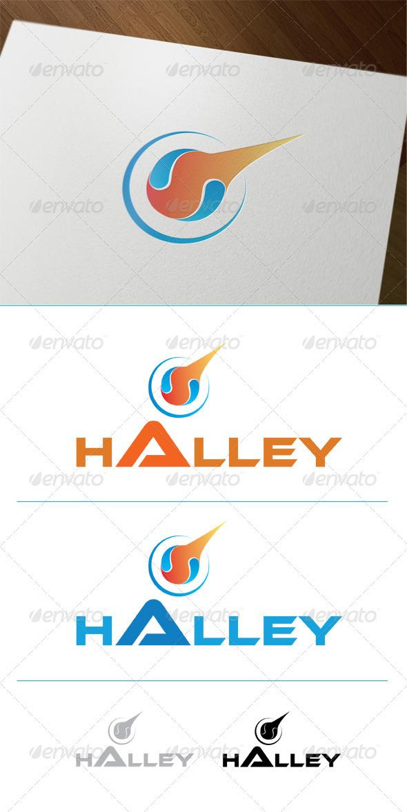 Halley Comet - Symbols Logo Templates
