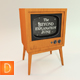Classic Television Set - 3DOcean Item for Sale