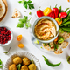Traditional Middle Eastern hummus with spices - PhotoDune Item for Sale