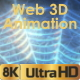 Spider Web Lines 3D Animation - VideoHive Item for Sale