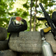 Paintball gun and protection mask closeup - PhotoDune Item for Sale
