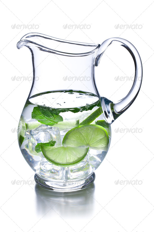 pitcher of lemonade - Stock Photo - Images