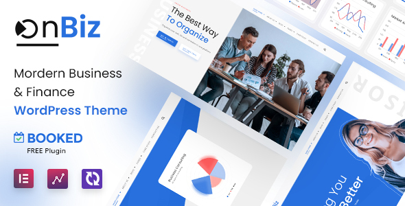 Onbiz - Consulting Business and Finance WordPress