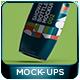Shower Gel Bottle Mockup 002