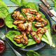 BBQ Chicken Wings - PhotoDune Item for Sale