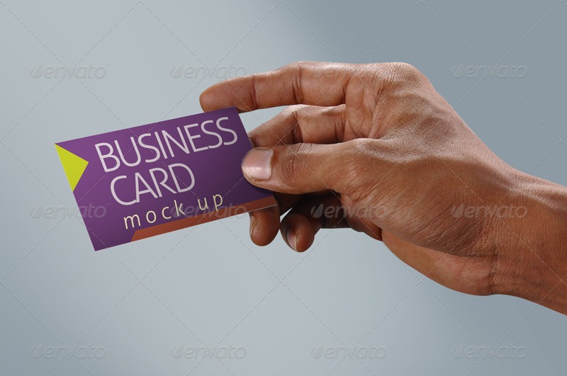 Professional & Photorealistic Bussiness Card Mock