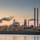 Industrial landscape scene at sunset - PhotoDune Item for Sale