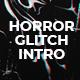 Horror Glitch Intro Mogrt - VideoHive Item for Sale