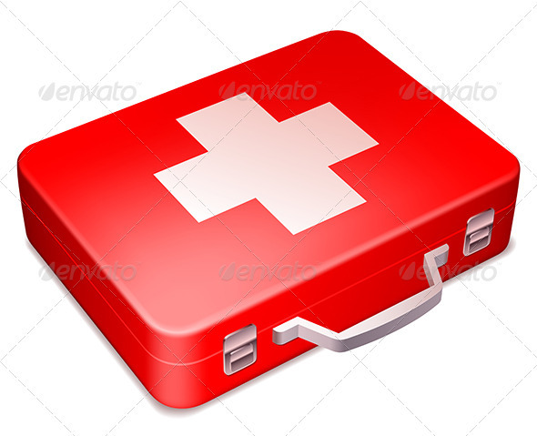 First Aid Kit - Objects Vectors