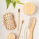 Bamboo toiletries. Ethical, sustainable,zero waste, no plastic lifestyle idea - PhotoDune Item for Sale