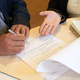 Senior Business People Signing Document - PhotoDune Item for Sale