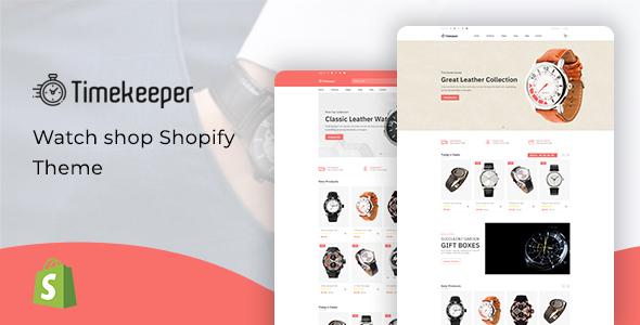 Timekeeper - Watch Store Shopify Theme