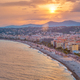 Picturesque view of Nice, France on sunset - PhotoDune Item for Sale