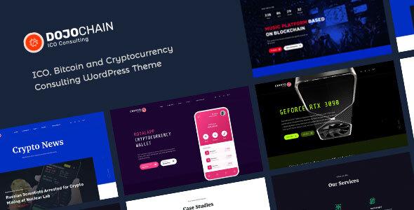 DojoChain - Cryptocurrency Consulting WordPress Theme