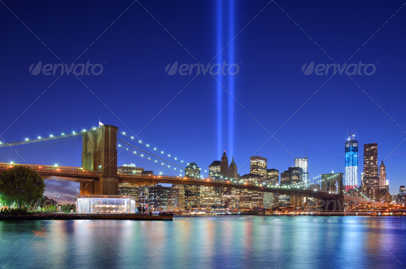 Downtown New York City - Stock Photo - Images