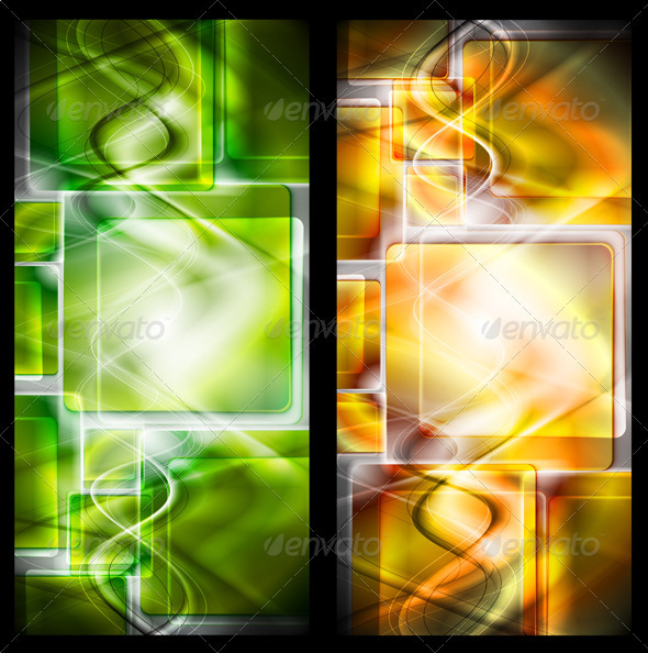Abstract vector banners - Abstract Conceptual