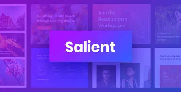 Salient - Responsive Multi-Purpose Theme Nulled