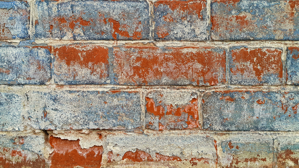 Texture of old brick wall - Stock Photo - Images