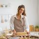 woman is preparing bakery - PhotoDune Item for Sale
