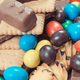 Heap of sweets containing a lot of sugar. Reduction eating unhealthy food - PhotoDune Item for Sale