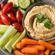 Healthy Homemade Veggie Hummus Plate - PhotoDune Item for Sale