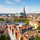 Aerial view of Szczecin cityscape on a sunny summer day, Poland. - PhotoDune Item for Sale
