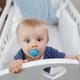 Cute Baby In Cradle - PhotoDune Item for Sale