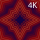 4k Pulsing Red Star - VideoHive Item for Sale