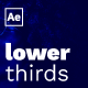 Modern Lower Thirds - VideoHive Item for Sale