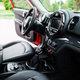 Interior of red city car. Small car for cities. - PhotoDune Item for Sale