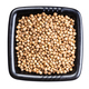 dried coriander seeds in black bowl isolated - PhotoDune Item for Sale