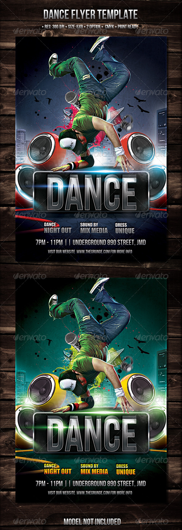 Dance Flyer - Events Flyers