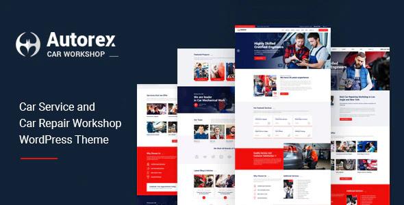 Download Autorex – Car Service & Workshop WordPress Theme Free Nulled