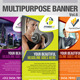 Multipurpose Banner Vol.5 - GraphicRiver Item for Sale