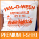 Halloween Party T-Shirt Template V2 - GraphicRiver Item for Sale