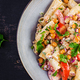 Vegetarian vegetable pasta. - PhotoDune Item for Sale