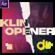 KLIN Typography Opener Stories