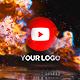 Fire Glitch Reverse Logo - VideoHive Item for Sale