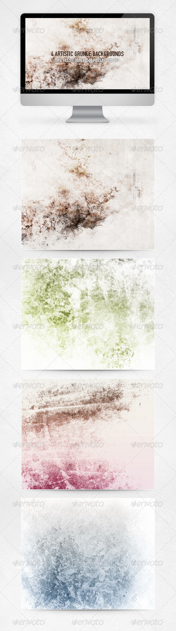 Artistic Grunge Backgrounds - Urban Backgrounds