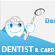 Business card for Dentist or Dental Institute - GraphicRiver Item for Sale