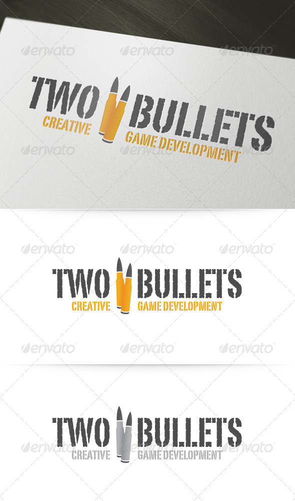 Two Bullets Logo - Objects Logo Templates