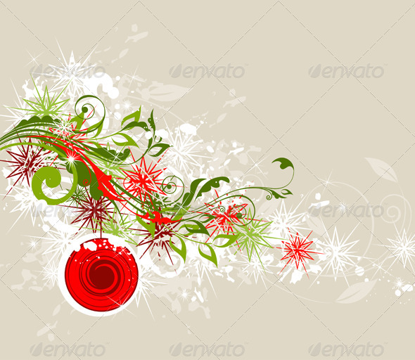 Abstract Christmas  Background - Christmas Seasons/Holidays