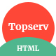 Topserv - Affiliate listing HTML Template
