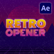 Retro Opener - VideoHive Item for Sale