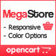MegaStore - OpenCart Theme Nulled
