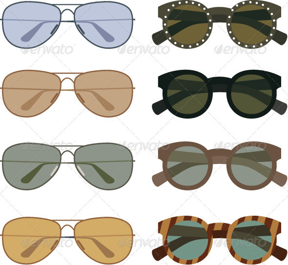 Sunglasses - Conceptual Vectors