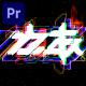 Glitch Logo MOGRT - VideoHive Item for Sale