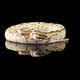 The colourful ball royal python isolated on black background - PhotoDune Item for Sale