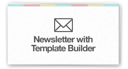 Newsletter wit Template Builder