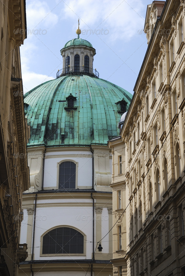 St. Peters's church in Vienna - Stock Photo - Images